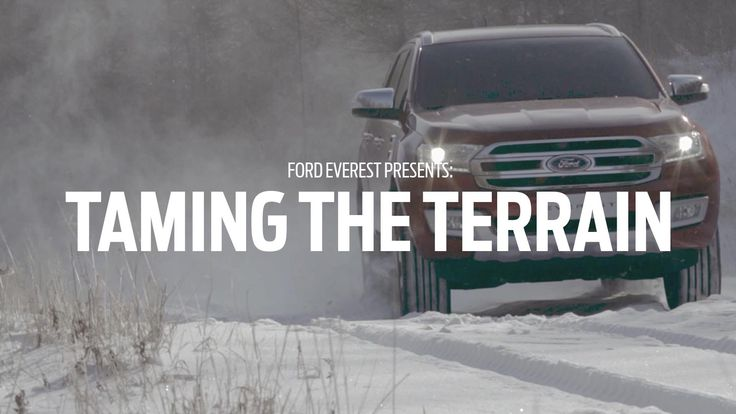 New #Ford Everest: Taming the Terrain