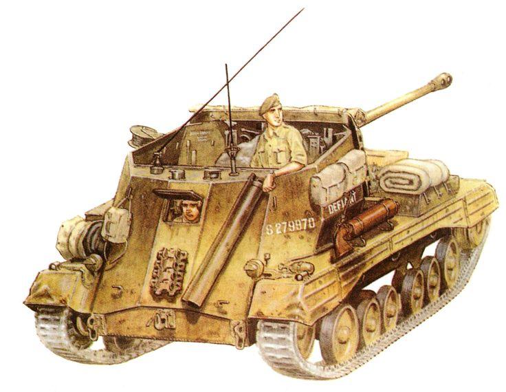 Archer «Defiant» de 17 libras de la 314.ª Batería, 105.° Reg. Contracarro RA, V Cuerpo de Ejército británico; Italia, 1944. Mike Chappell http://www.elgrancapitan.org/foro/viewtopic.php?f=12&t=17519&p=899435#p899435