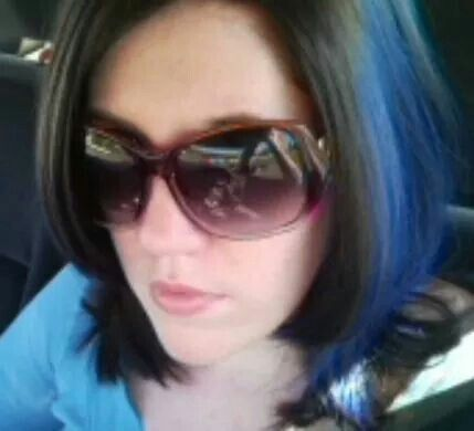 Jerome Russell Punky Color in Atlantic Blue