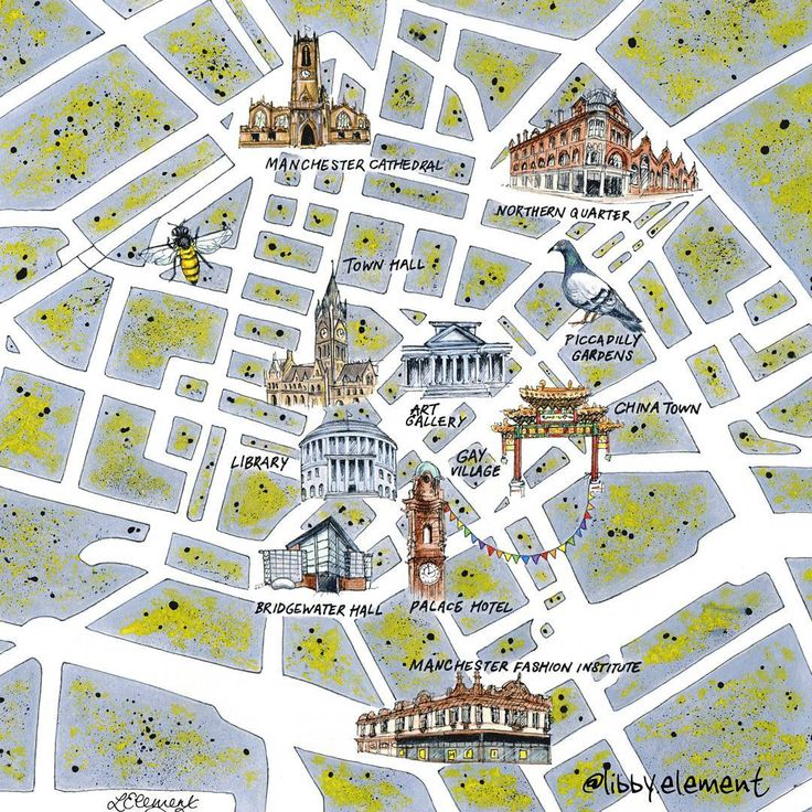 9 best Manchester Maps images on Pinterest Cards Maps and Manchester