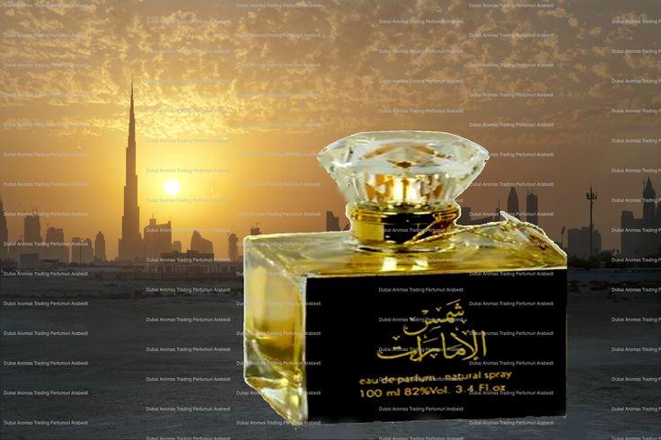 Sham Al Emarat Parfum Note predominante: oud (lemn de agar), mosc, ambra, lemn de santal, vanilie. Dubai Aromas Trading (f)@dubaiaromastrading (i) @parfumuri.arabesti @dubaiaromas #parfumuriarabesti  #arabicperfumes #bucuresti