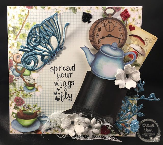 Artdeco Creations Brands: Spread your wings by Tracey Cooley
