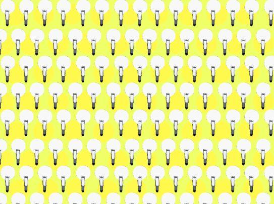 Bulb pattern.