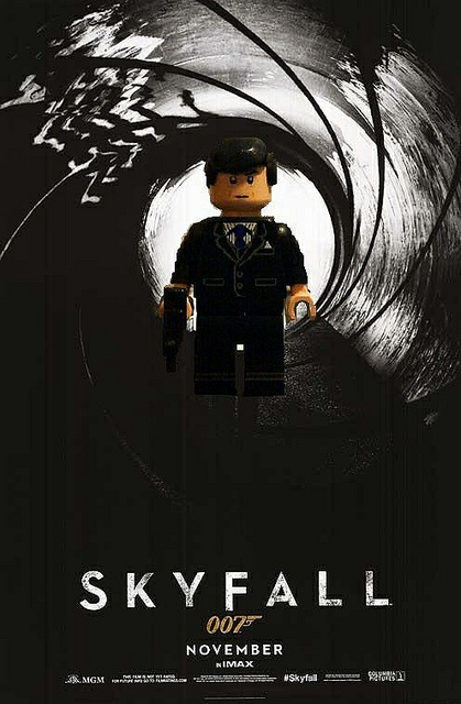 Lego james bond Skyfall   Flickr - Photo Sharing!