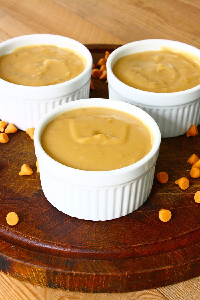 Old Fashioned Butterscotch Pudding