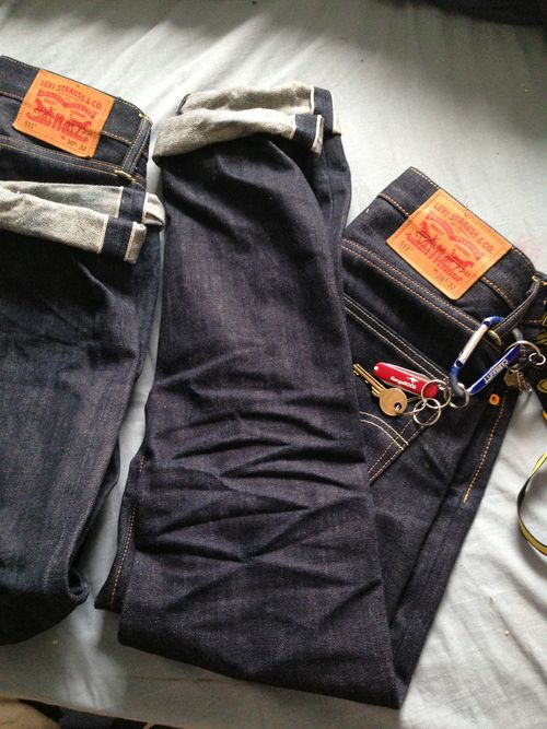 Selvedge Levi's, worth every penny!