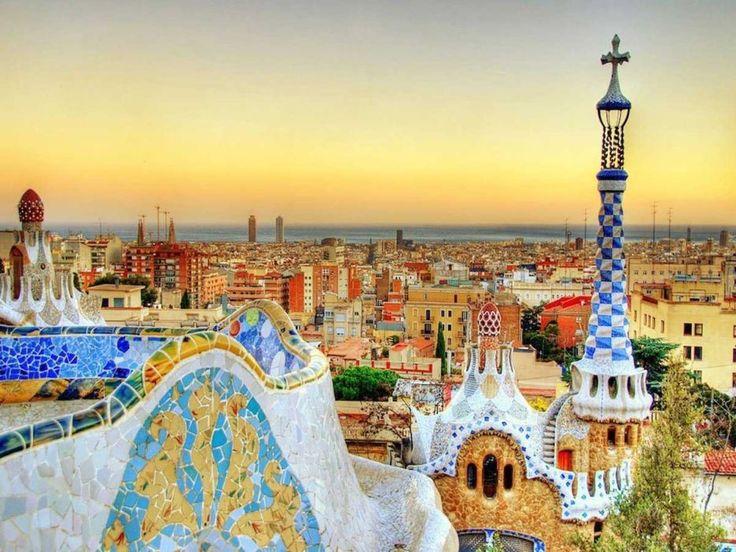8. legszebb város a világon: Barcelona, Spanyolország