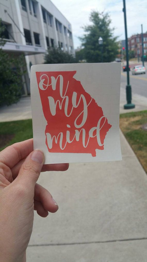 Check out this item in my Etsy shop https://www.etsy.com/listing/402488324/georgia-on-my-mind-state-decal-yeti