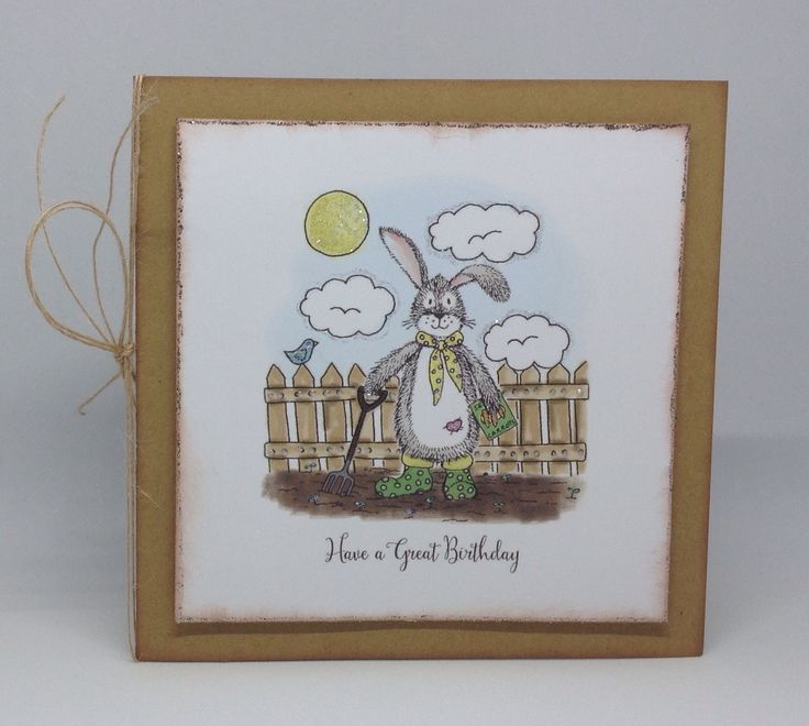 Warren and Lola Pad, card designed by Julie Hickey