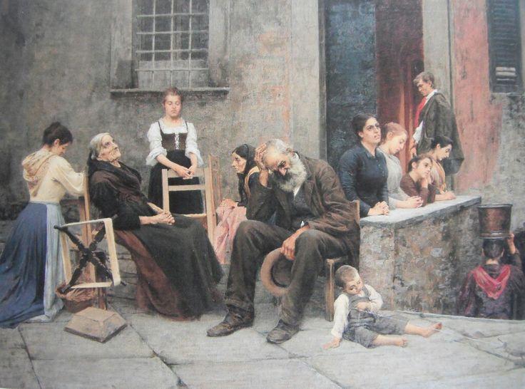 Filadelfo Simi - La Preghiera della Sera, 1890