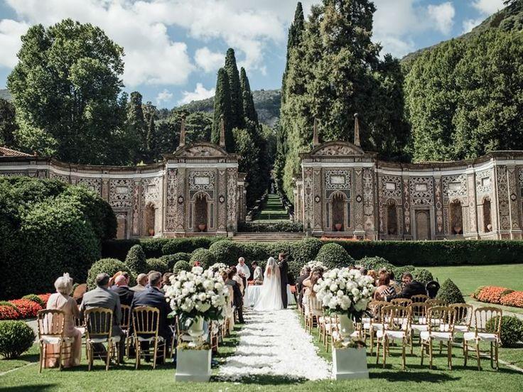 Glamorous Brides Will Love This Palatial Lake Como Wedding