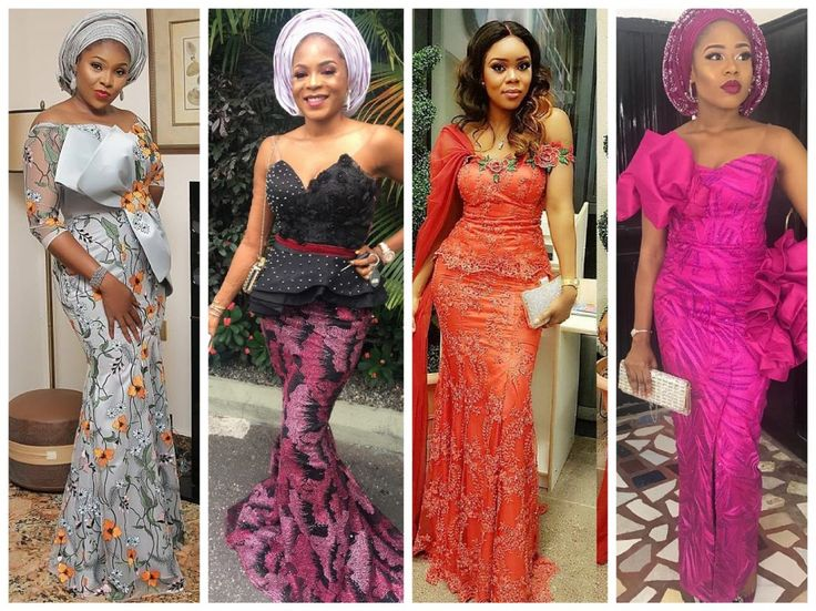 Be a Trendsetter : Checkout these eye-popping and uber-classy Aso-Ebi styles - Wedding Digest Naija