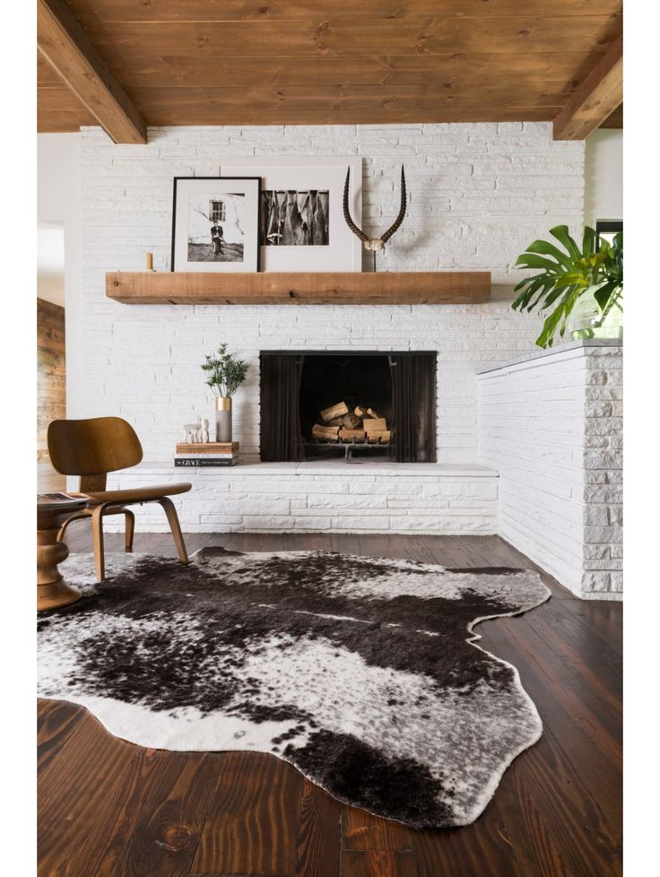Loloi Rugs Grand Canyon Faux Hide Rug Loomed Of Acrylic Felt Backing Features An Animal Print Pile Material Wool Cotton And