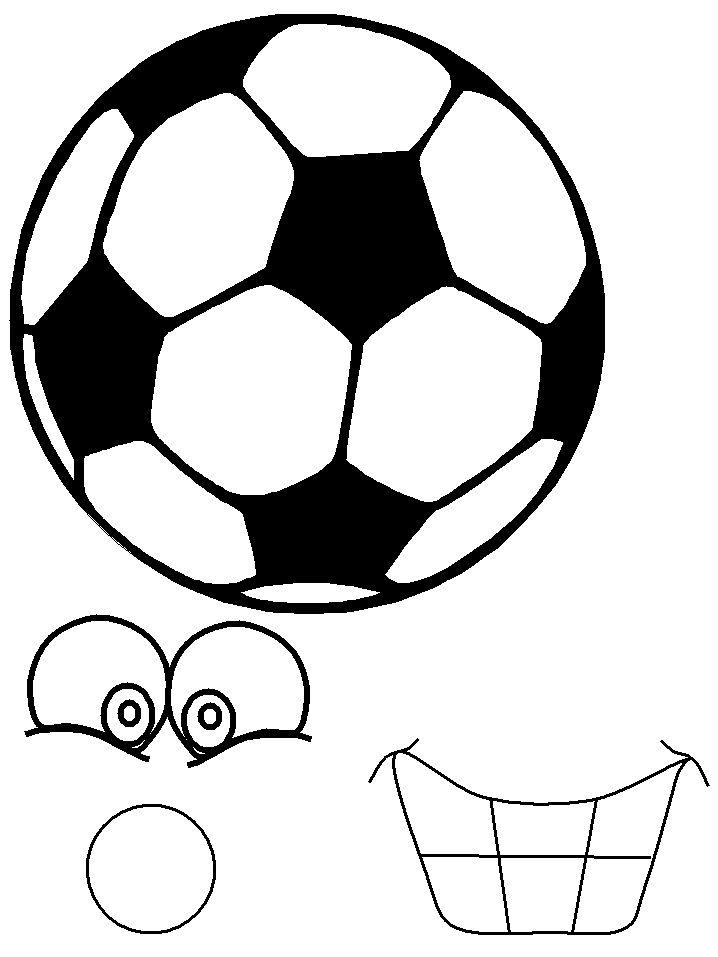 Knutselen: Voetbal mascotte