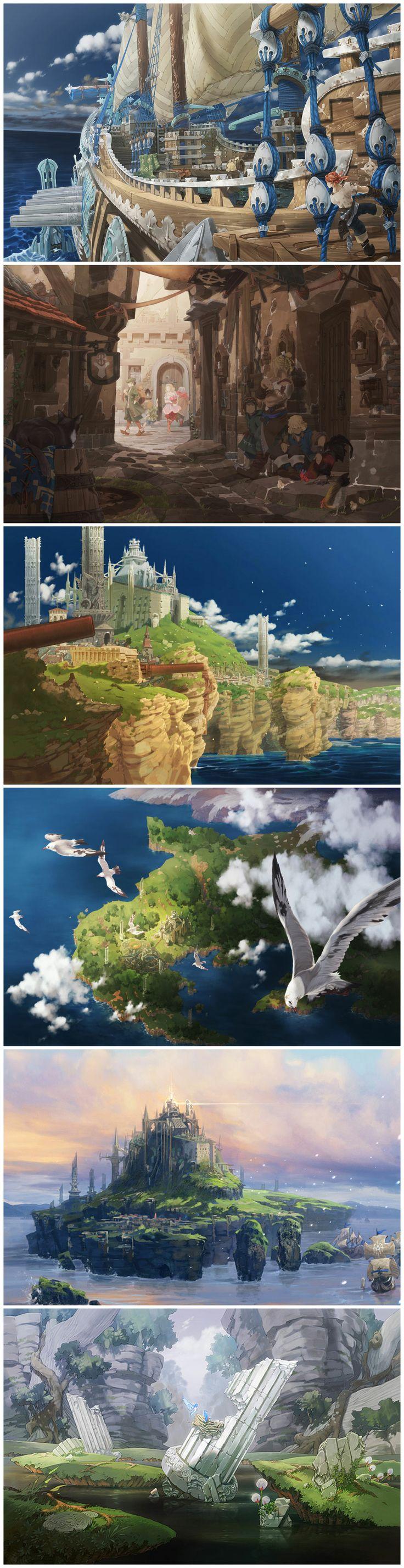 The Last Story — Concept art by Kimihiko Fujisaka