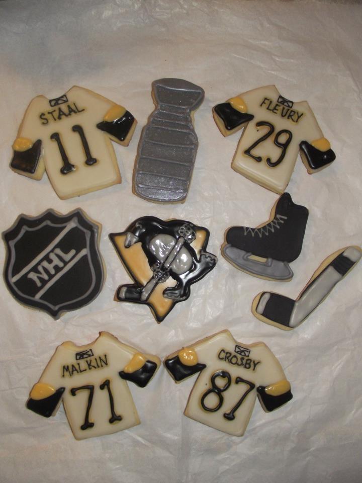 Pittsburgh Penguins cookies