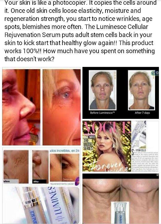Luminesce Rejuvenation Serum.  www.nourishyourskin.jeunesseglobal.com