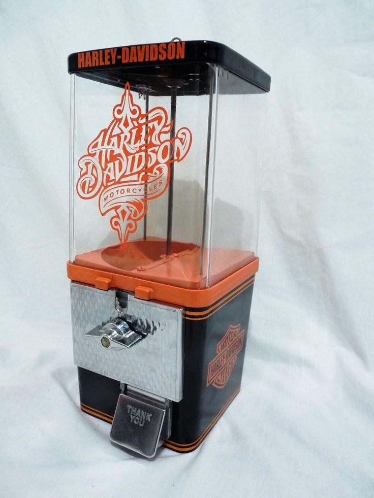 HARLEY DAVIDSON vintage gumball machine