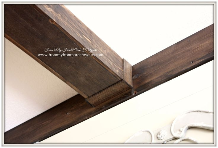 25 best faux beams ideas on pinterest faux wood beams for Faux wood trusses