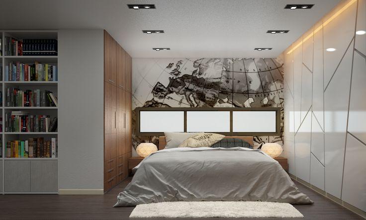 Teenage bedroom.