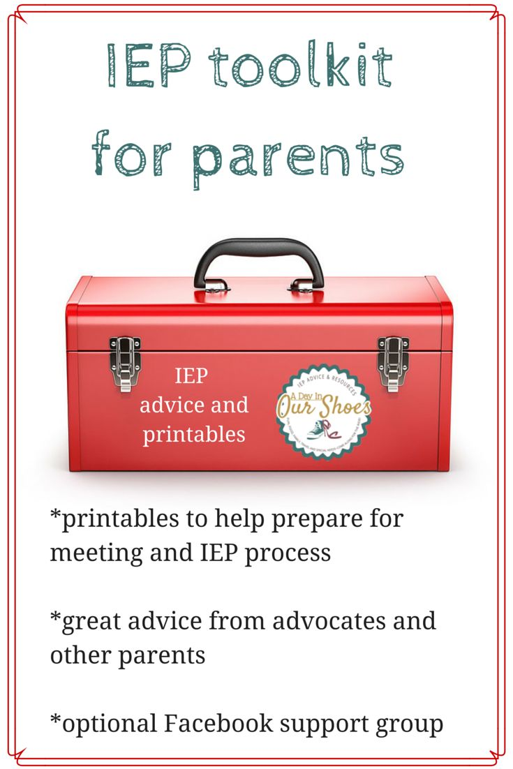 IEP toolkit for parents~8 printables and advice to get your ready for your IEP meeting via @LisaLightner