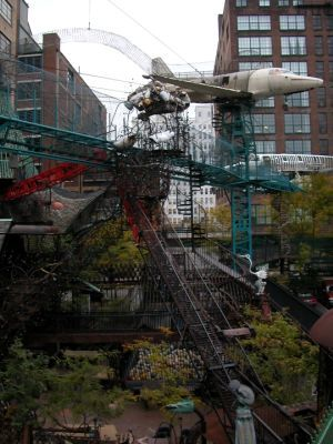 City Museum--best playground in St. Louis!  Indoor, outdoor, slides, caves, sculpture...Go get lost for a day.