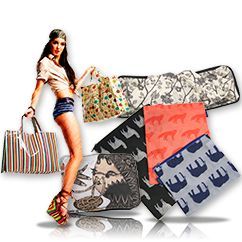 Suministros para Grandes Superficies y Retail, especialmente Bolsas, Packagings y Decoraciones en tienda.