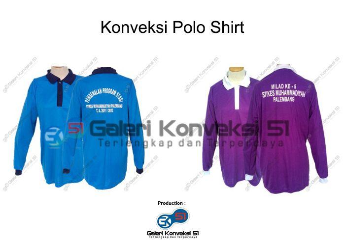 Konveksi Polo Shirt Perguruan Tinggi