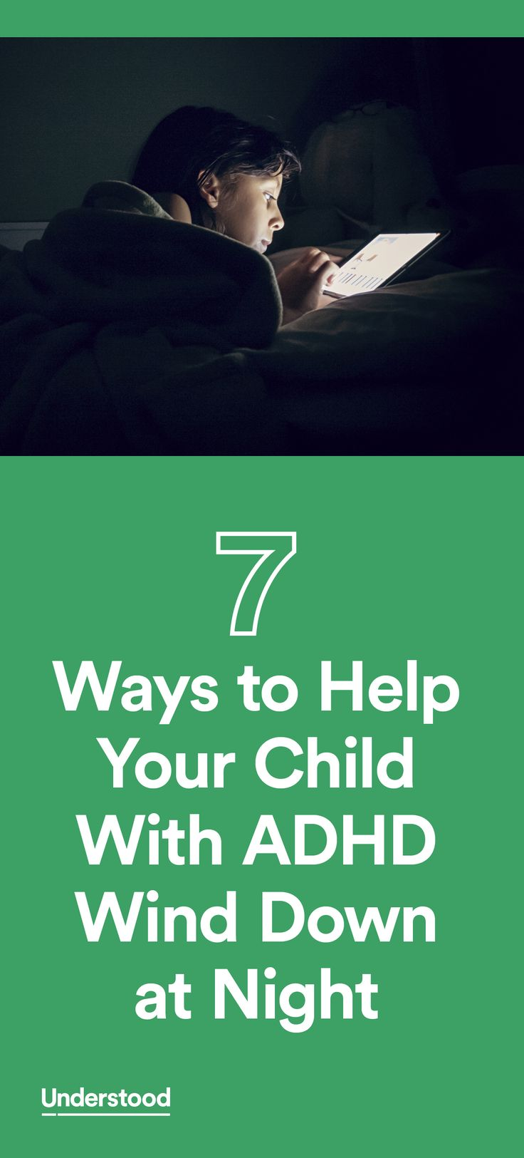 An expert responds to a parent whose child with ADHD stays up too late.
