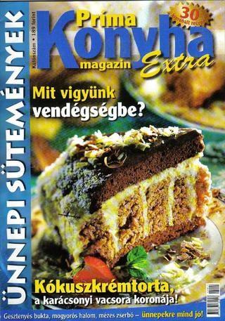 Prima konyha magazin extra 2005 12 december unnepi sutemenyek(1 kulonszam)