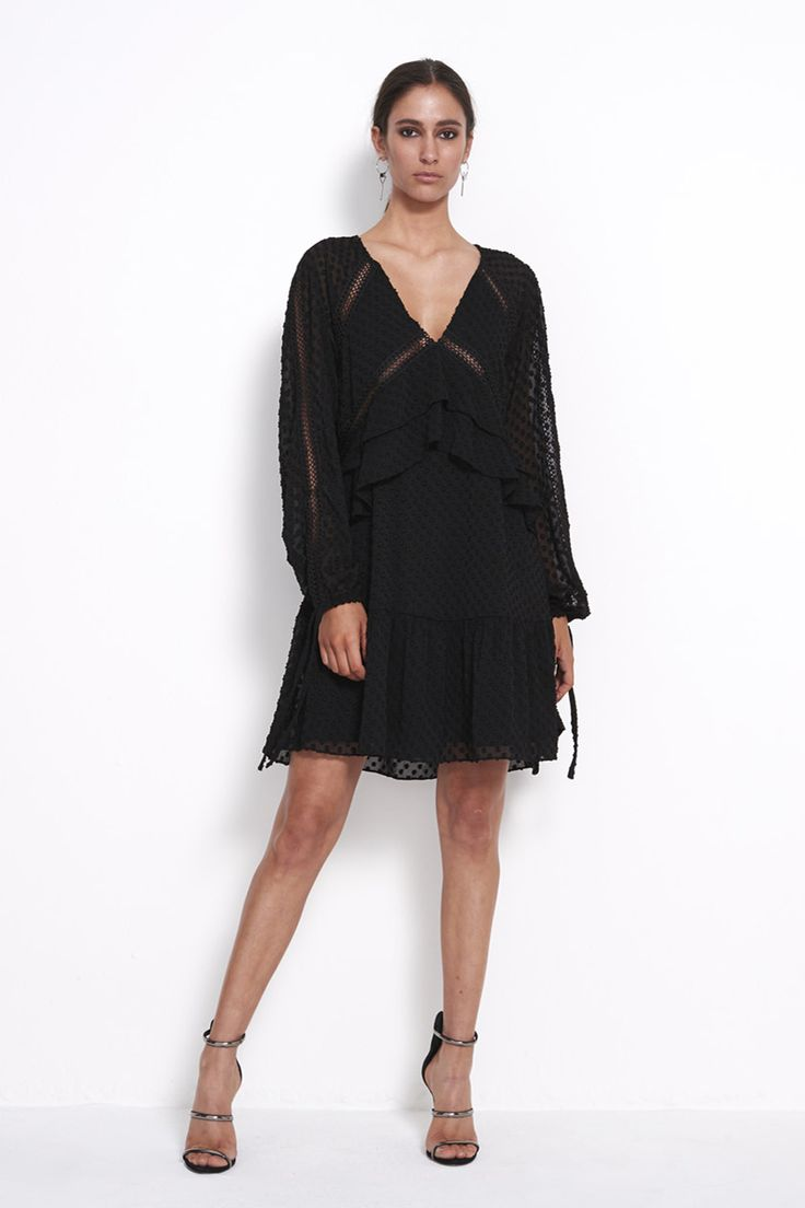 Animal Wrap Half Sleeve, Robe Femme, Noir (Black 1), 36New Look