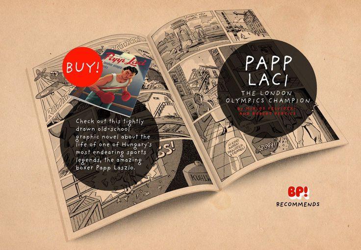 BP! RECOMMENDS > PAPP LACI, THE LONDON OLYMPICS CHAMPION. http://bigpig.co/papp-laci/