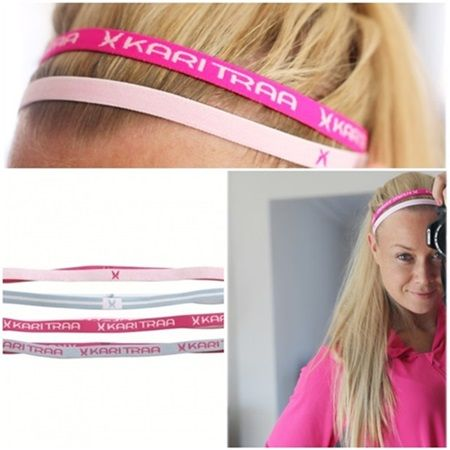 Kari Traa hårbånd. Helst friske farger😉
