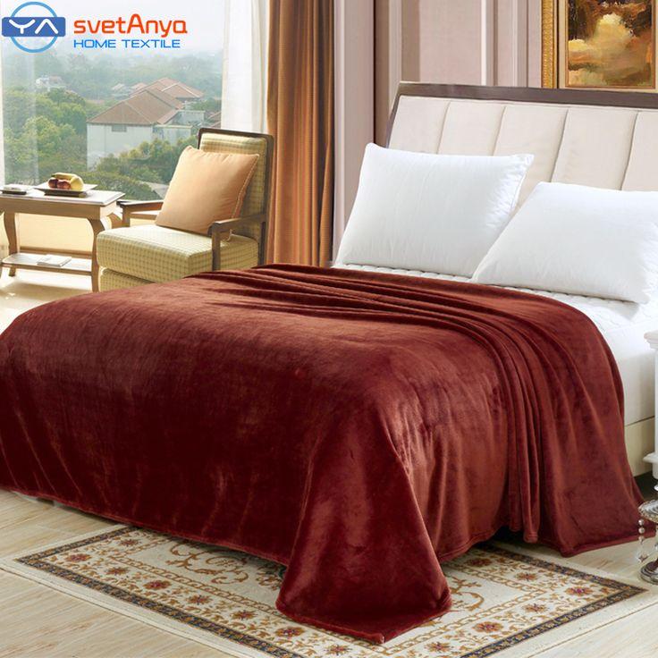 Купить 200 * 230 см сплошной цвет тонкий мягкой одеяла Flano фланели воздуха / диван одеяло / постельные принадлежности бросьте размер королева синий / кофе цвети другие товары категории Одеялав магазине svetanyaнаAliExpress. одеяло полотенце и одеяло любви