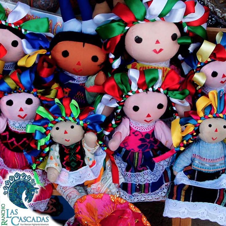 """This traditional dolls can be found at our local market. Do you """"like"""" them? http://rancholascascadas.com/explore/"""