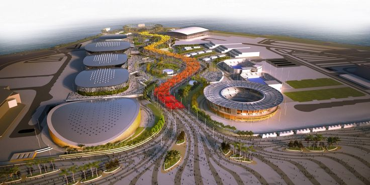 Architecture firm AECOM released some artist renderings for the 2016 Olympic…