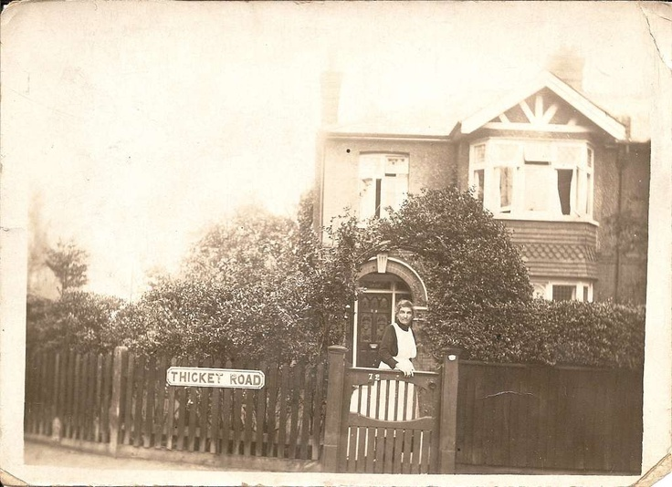 Jessie Nelson my gt grandmother when working as a housekeeper at Thicket Road, Sutton, Surrey. About 1935 I guess.