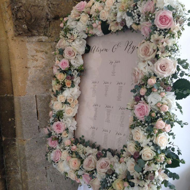 Fl Table Plan Frame Florist Www Lilyfeefldesigns Co Uk Wedding Planner