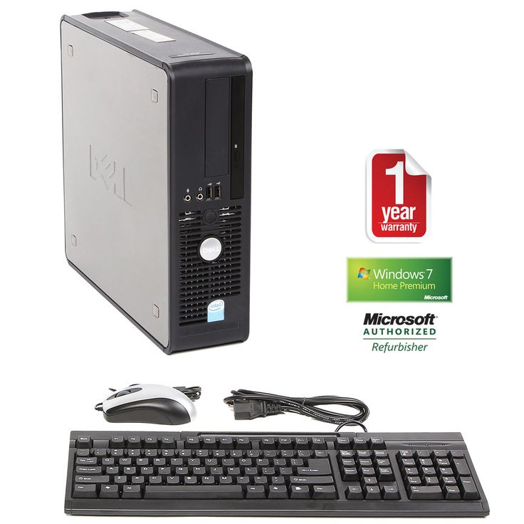 Dell OptiPlex 745 1.8GHz 2GB 80GB Win 7 SFF Computer