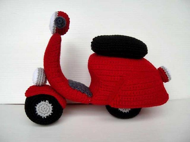 Ravelry: Crochet Pattern - SCOOTER pattern by Sky Magenta