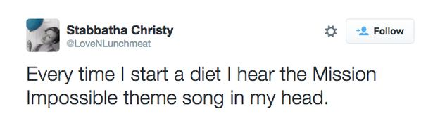 28 Tweets About Dieting That Will Make You Laugh Out Loud