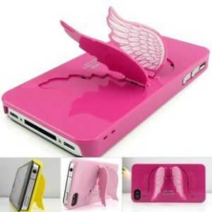 cute phone case  I want one, loving the angel wing, but the corners aren't covered so it might fall out