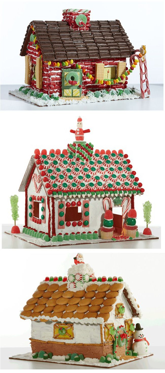 Wilton Christmas Candy Chalet Gingerbread House Gingerbread