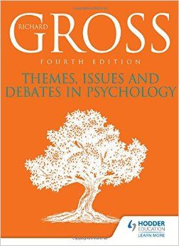 This book integrates topics, theories and areas of psychological research.