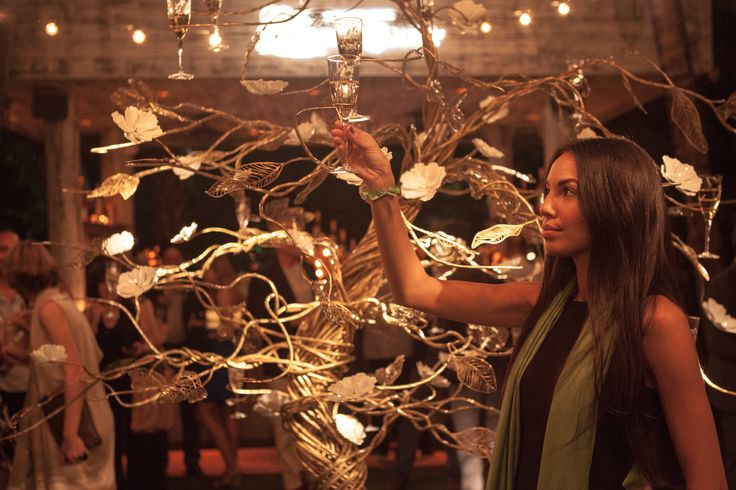Alluring moments around the Enchanting Tree #perrierjouet #designmiami Please Drink Responsibly
