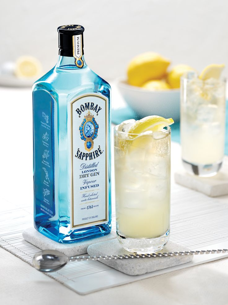 Sapphire Alpine Cocktail With Bombay Sapphire Recipe