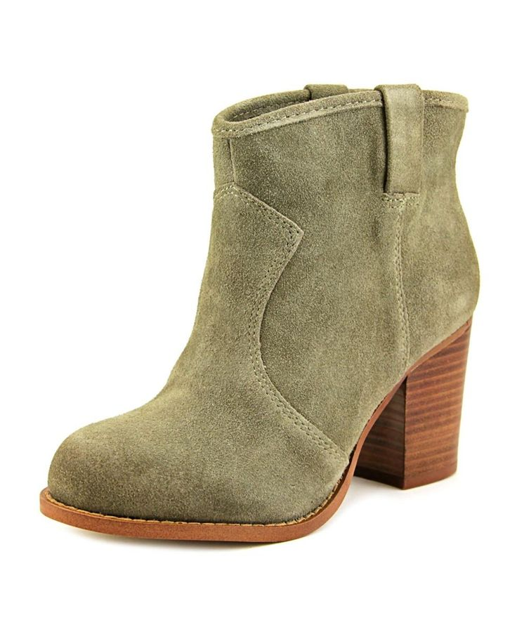 SPLENDID Splendid Lakota Women  Round Toe Suede Gray Ankle Boot. #splendid #shoes #