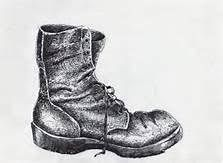 Image result for pen and ink drawing of shoes