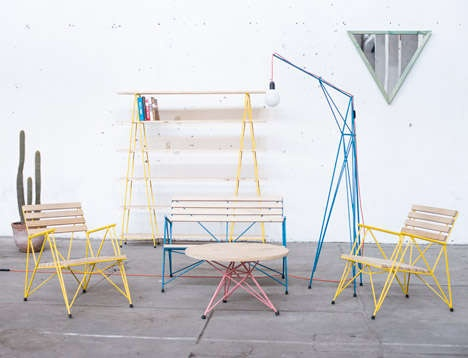 Losgogo's Simple Steel Furniture