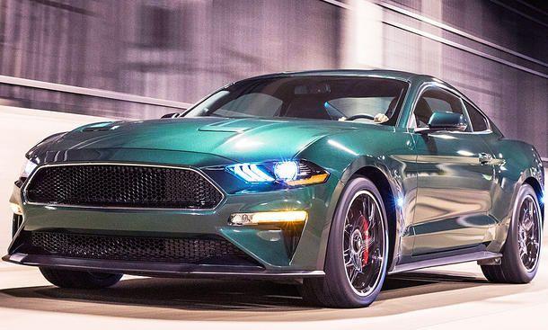 Ford Mustang Bullitt 2018 Motor Neue Autos Fur Alle Pinterest